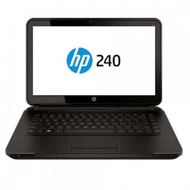 Laptop hp240 g2 f7w08ltabm windows 8.1 ram 4gb dd 500gb 14'' bitdefender ts 1año, mochila