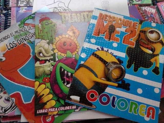 Fotos de Libro para colorear 16 paginas mi villano favor en ...
