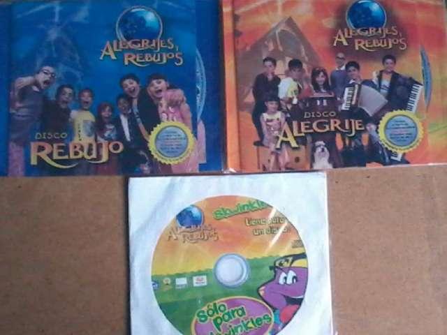Super oferta discos originales de alegrijes y rebujos