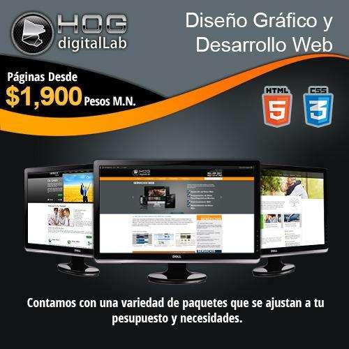 Páginas web profesionales para toda la republica mexicana y estados unidos