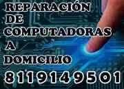 Reparación de computadoras a domicilio y cableado de redes