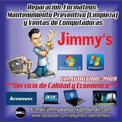 Servicio y reparacion de computadoras y laptops economicos