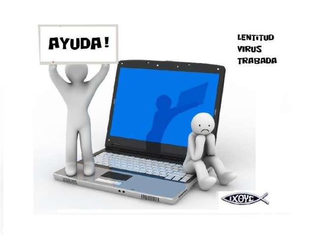 Servicio y reparacion de computadoras y laptopsvirus/lenta formateo $150