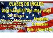 Clases de Ingles para adolescentes y Adultos 60 pesos la semana!