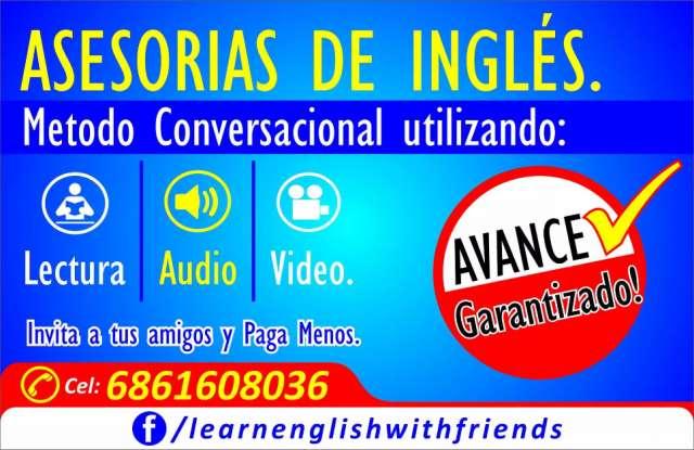 Curso intensivo de inglés.