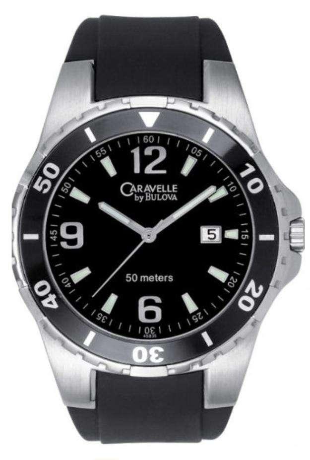 Reloj caravelle by bulova seminuevo