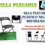 sillas y mesas plegables de alto rendimiento