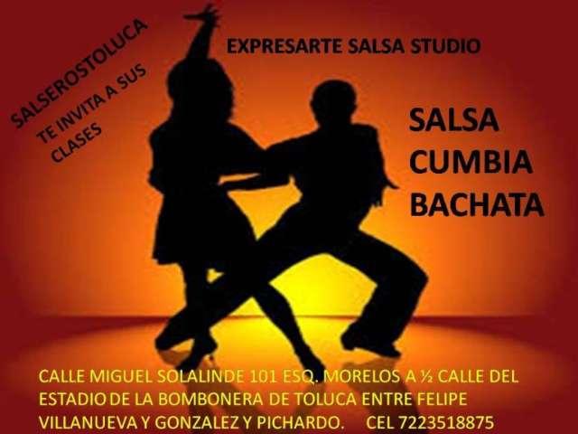 Clases de salsa, cumbia y bachata en toluca