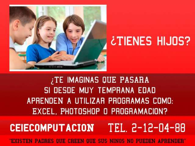 Escuela de computación para niños