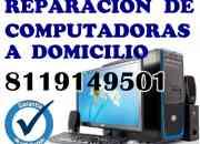 Reparación de computadoras a domicilio y cableado de voz y datos