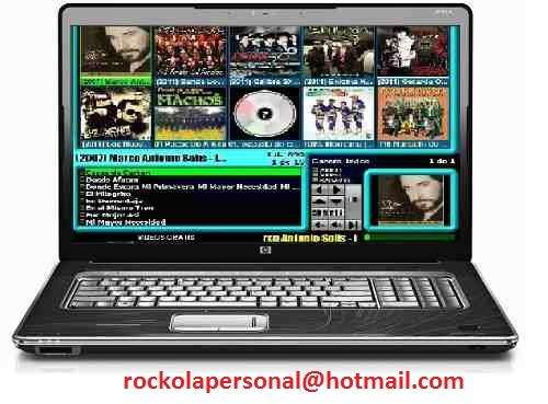 Venta de programa para rockolas digitales en toluca