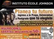 Curso propedéutico para ingreso a la universidad Exani 2