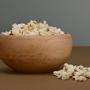 Escudilla de madera con superficie interior de cristal, Escudilla para comida