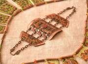 La pulsera está hecha de cobre