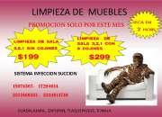 LIMPIEZA DE MUEBLES.