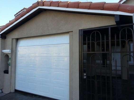 Puerta de garage