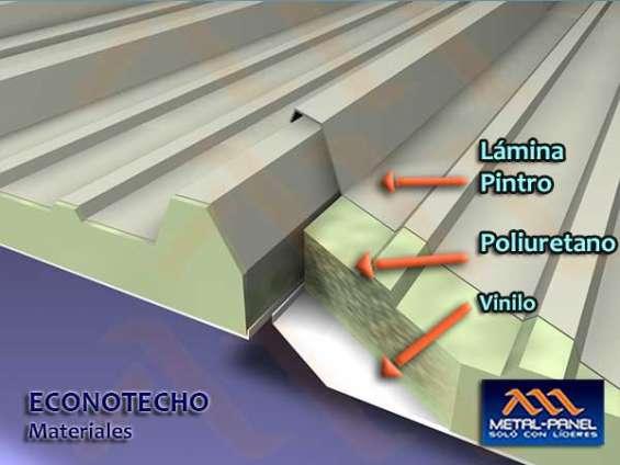 Econotecho (versatecho).- venta, suministro e instalacion.