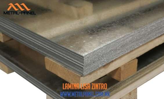Laminas lisas de acero.- venta, suministro e instalacion.