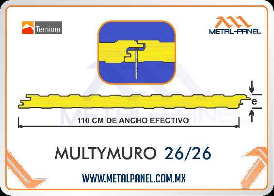 Multymuro.- venta, suministro e instalacion
