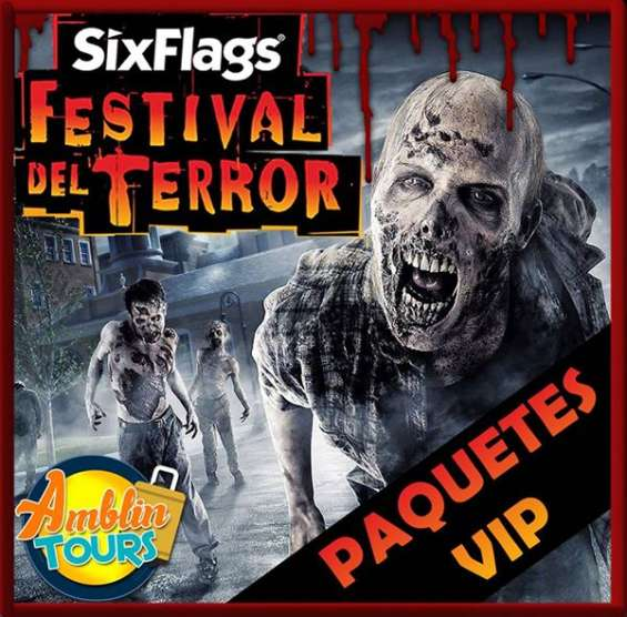 Festival del terror six flags 2016