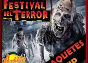 FESTIVAL DEL TERROR SIX FLAGS 2016