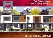 Venta de casas en Queretaro Casas Riscos.