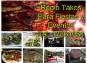 Tacos de trompo y bistek para eventos a domicilio