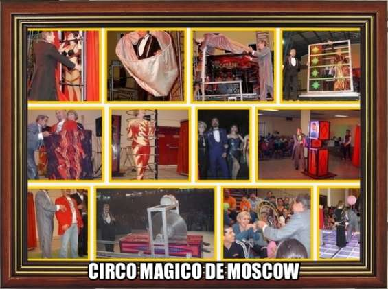 Circo magico de moscow para tus fiestas