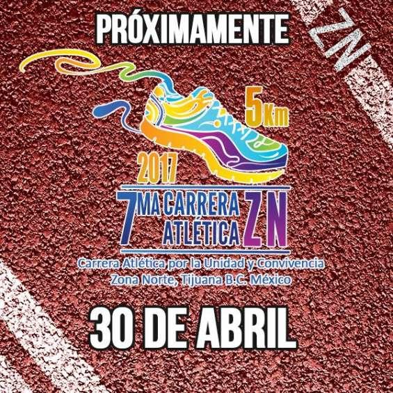 7ma carrera atlética zona norte / 30 de abril - tijuana