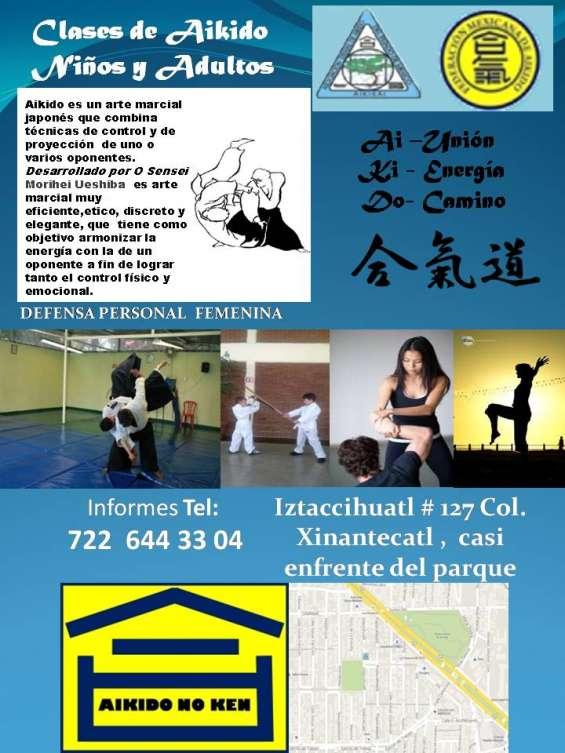 Aikido clases niños y adultos