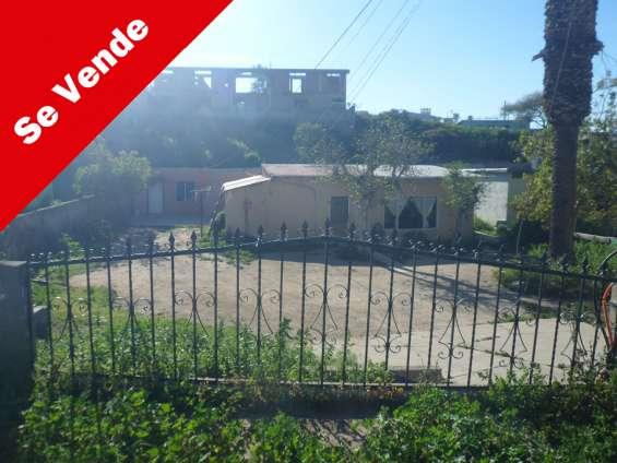 Terreno habitacional centrico listo para construir en colonia guerrero tijuana