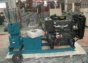 Peletizadora  Meelko 400 mm Diesel Mixta 55HP