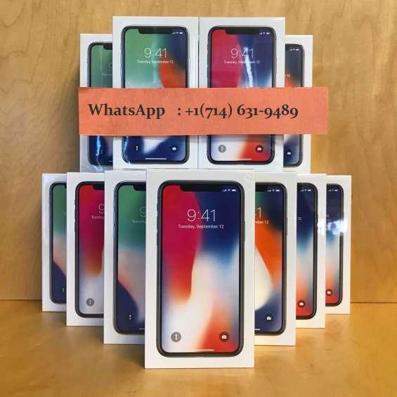 Venta:iphone x 256gb y iphone 8 plus y samsung galaxy s8+ y galaxy note 8 y iphone 7 plus