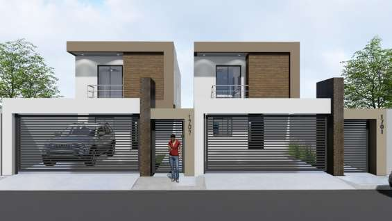 Casa nueva con arquitectura contemporanea
