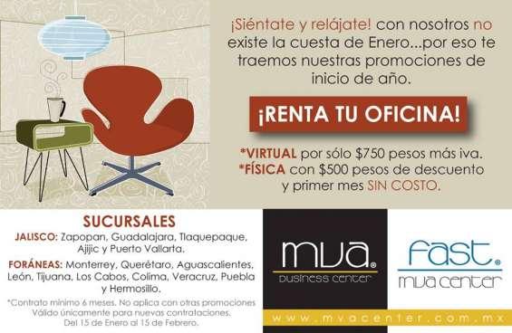 Te ofrecemos el mejor servicio en oficinas virtuales