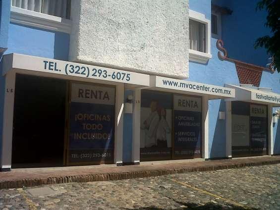 Nuevas oficinas con todos los servicios en zona hotelera vallarta