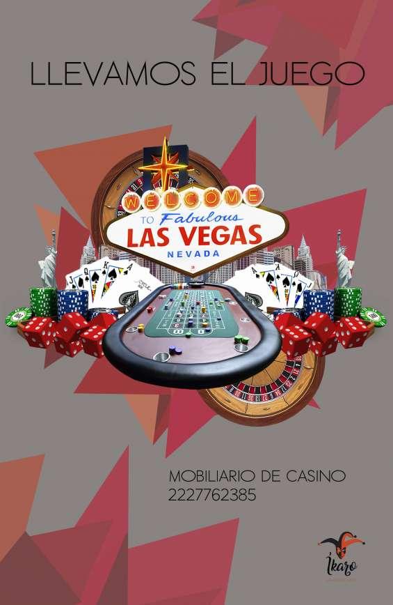 Renta de mesas de casino para eventos