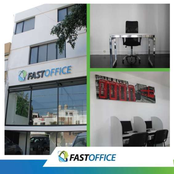 Elegantes oficinas amuebladas ubicadísimas en zona la paz!!