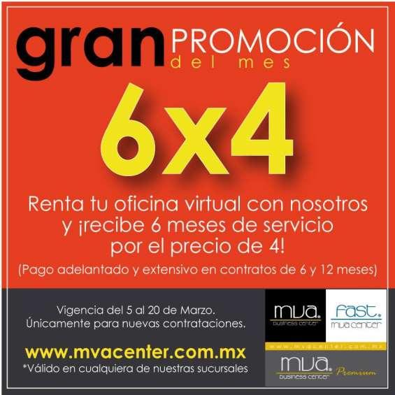 Gran promoción en oficinas virtuales 4x6
