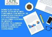 ¿QUIERES CAMBIAR TU DOMICILIO FISCAL? TENEMOS PAQUETES DESDE $750.00