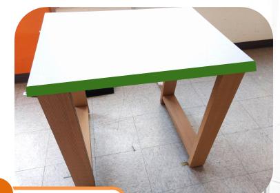 Remato mesas para escuela en buen estado