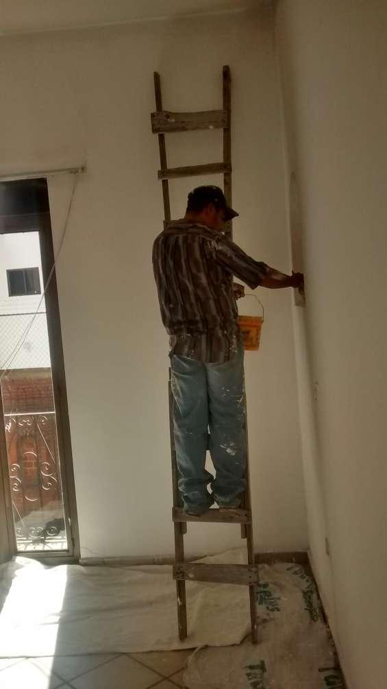 Pintamos su casa y impermeabilización de casas todo tipo de mantenimiento