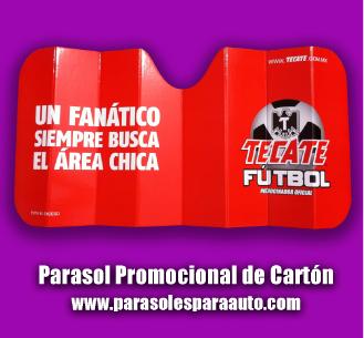 Parasoles promocionales para autos