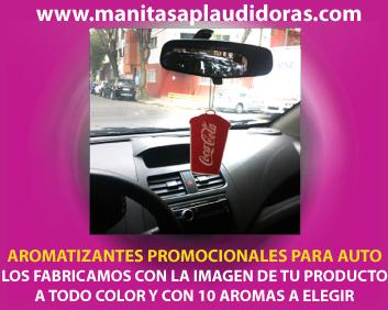 Desodorantes promocionales para autos