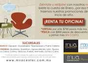 RENTA DE OFICINAS VIRTUALES CON SERVICIOS INCLUIDOS
