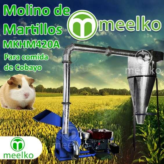 (comida de cobayo) de biomasa molino triturador