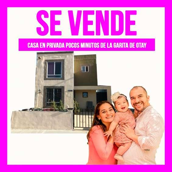 Compra ahora tu casa cerca de la garita de otay tijuana 3 recamaras