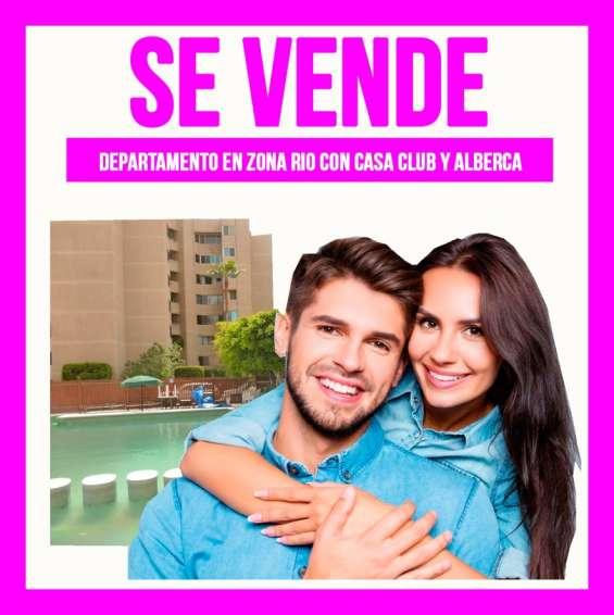 ?te encantará departamento 1er piso en zona rio tijuana 2 recamaras?