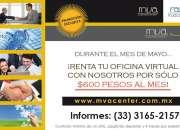 TENEMOS OFICINAS VIRTUALES EN $600