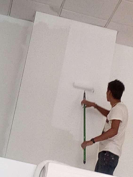 Trabajos de plomería electricidad pintura exterior y interior impermeabilización